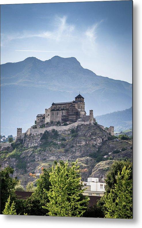 Castle Metal Print featuring the photograph Castle Tourbillon by Fabio Gomes Freitas