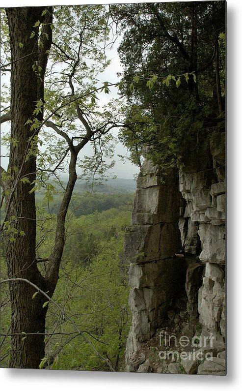 Escarpment Metal Print featuring the photograph Escarpment Tunnel by Kathi Shotwell