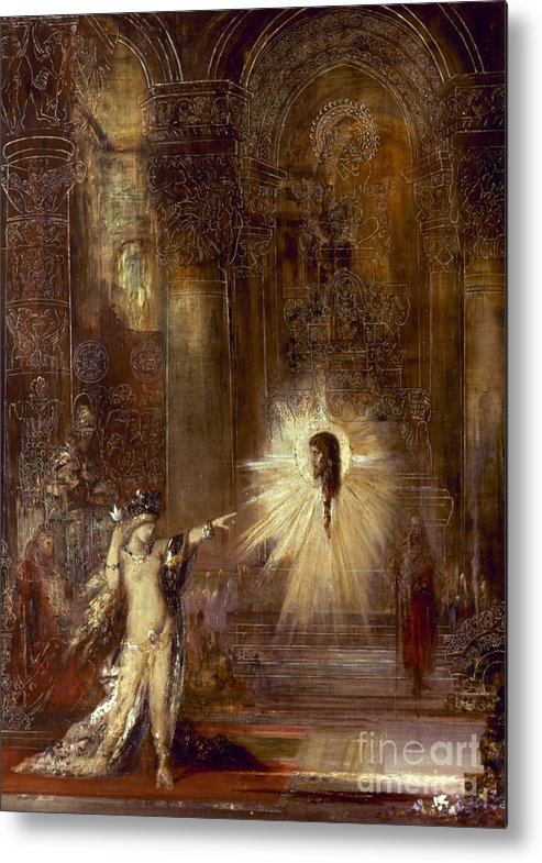 1876 Metal Print featuring the painting Moreau: Apparition, 1876 by Granger
