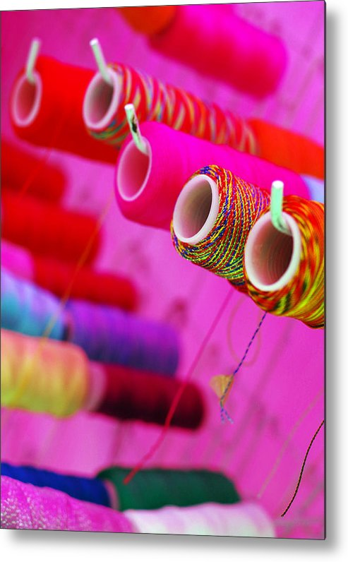 Color Metal Print featuring the photograph String Theory by Skip Hunt