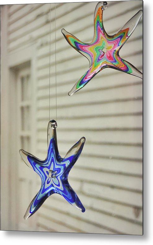 Star Metal Print featuring the photograph Suncatchers by JAMART Photography