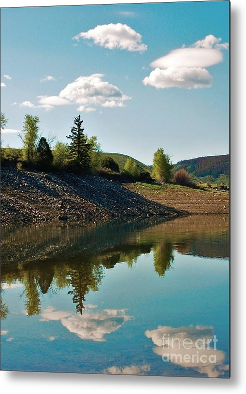 Lake Metal Print featuring the photograph Tranquility by Jessica Wallace