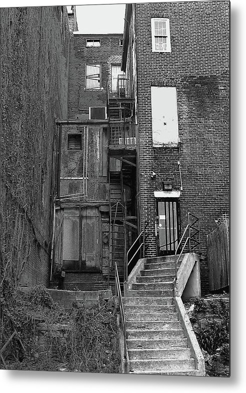 2d Metal Print featuring the photograph Urban Decay by Brian Wallace