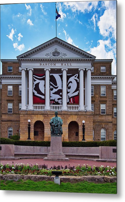 Madison Metal Print featuring the photograph Bascom Hall - Madison - Wisconsin by Steven Ralser