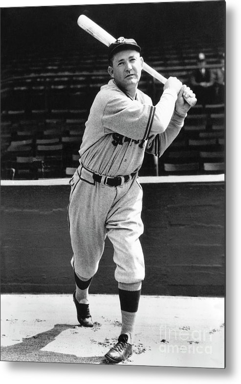 1910-1919 Metal Print featuring the photograph Rogers Hornsby by National Baseball Hall Of Fame Library