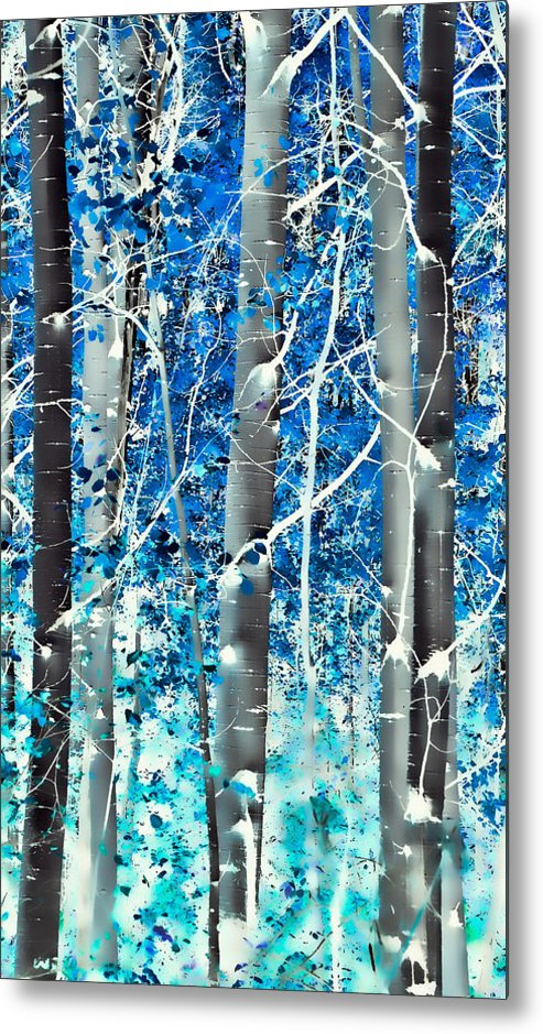 Aspens Metal Print featuring the photograph Lost In A Dream by Don Schwartz