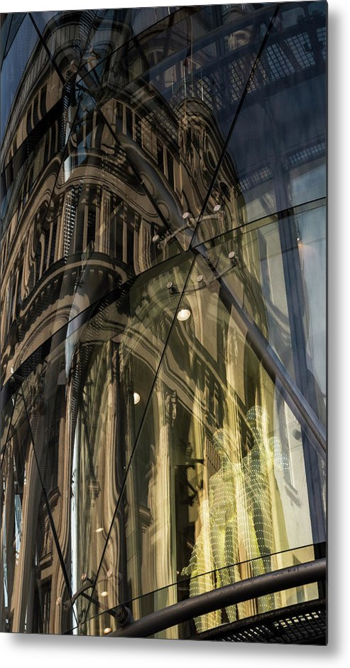Mannequin Metal Print featuring the photograph Emergence by Alex Lapidus