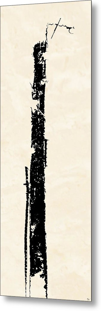 Totem Metal Print featuring the digital art Totem by Ken Walker