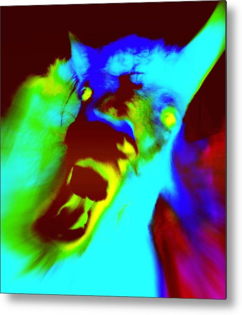 Horse Metal Print featuring the photograph Come On Baby Light Me Up Or Leave Me In The Darkness Forever  by Hilde Widerberg