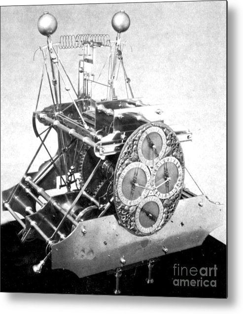 History Metal Print featuring the photograph Harrisons First Marine Timekeeper by Photo Researchers
