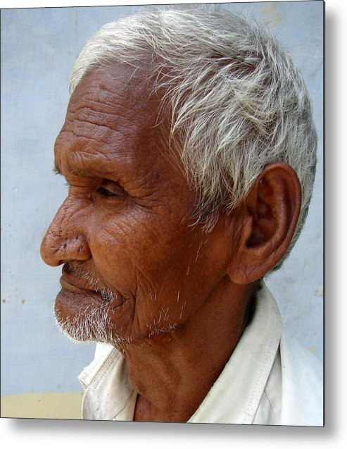 Photograph Metal Print featuring the photograph A Profile by Anand Swaroop Manchiraju