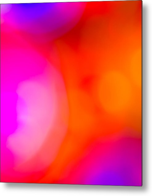 Abstract Metal Print featuring the photograph Blur by Kevin Gobelman