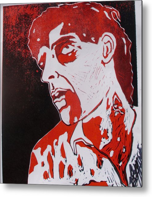 Dawn Of The Dead Metal Print featuring the painting Dawn Of The Dead Print 1 by Sam Hane