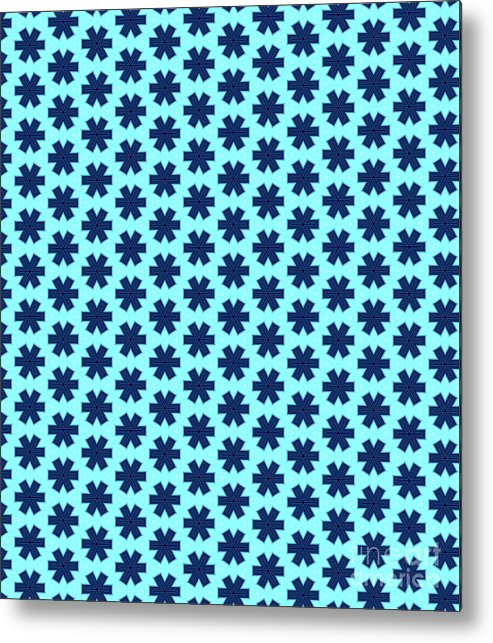 Pattern Metal Print featuring the digital art Patterned by Dustin Carpenter