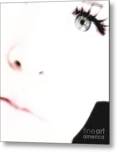 Face Metal Print featuring the photograph Where Is The Soul by Amanda Barcon