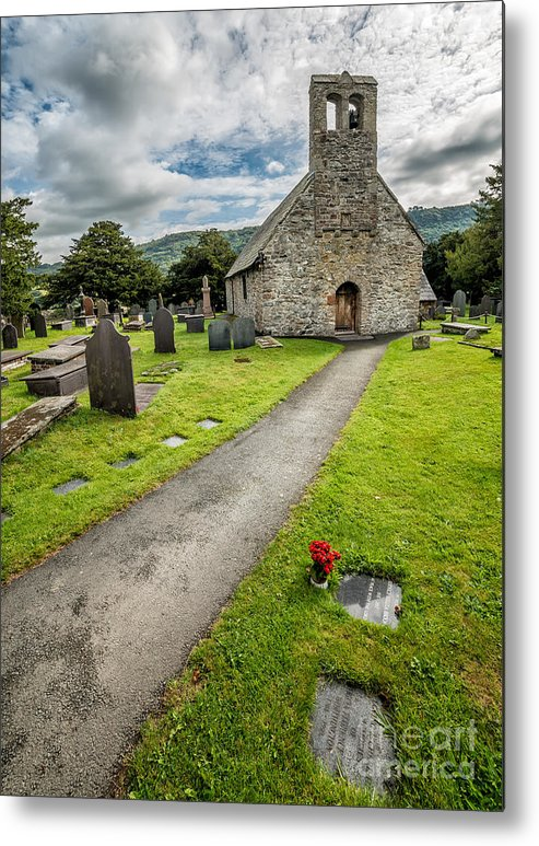 British Metal Print featuring the photograph Church Of St Mary by Adrian Evans