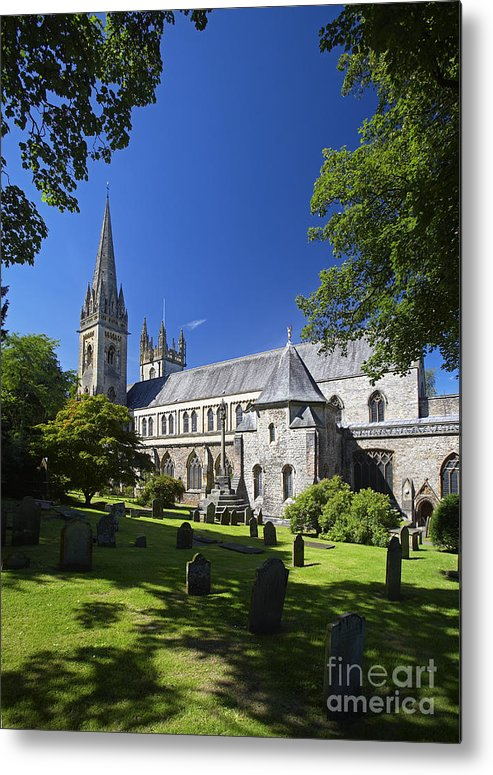 Llandaff Metal Print featuring the photograph Llandaff Cathedral by Premierlight Images