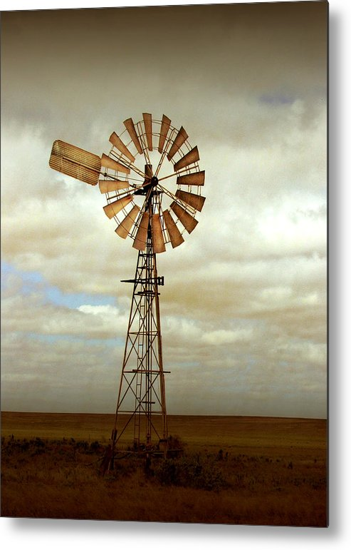 Windmill Metal Print featuring the photograph Catch The Wind by Holly Kempe