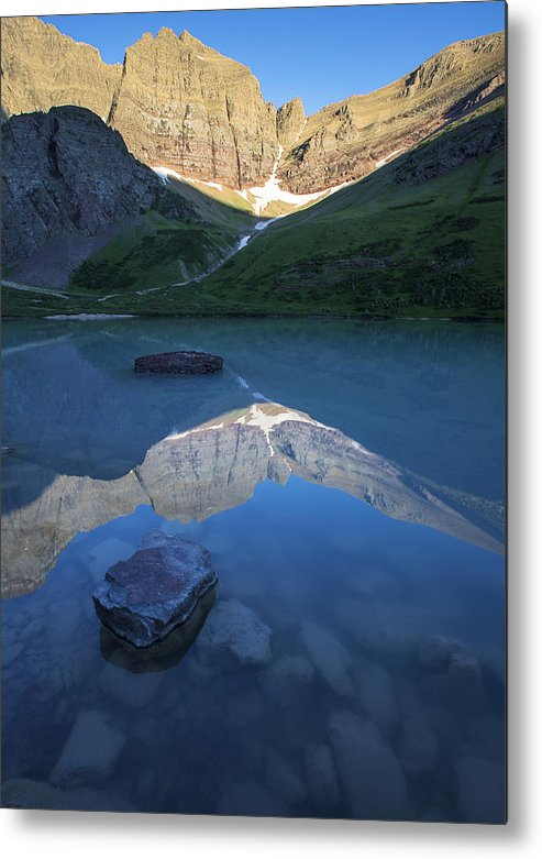 Gould Metal Print featuring the photograph Cracker Lake by Ross Murphy