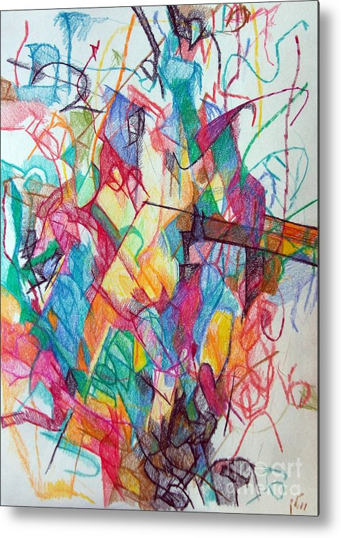 Torah Metal Print featuring the drawing Smaller Than Small 1 by David Baruch Wolk