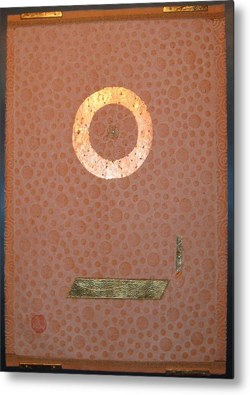 Abstraction Metal Print featuring the tapestry - textile Staring Into Hubble by Dan A Barker