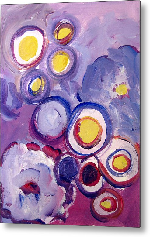 Abstract Art Metal Print featuring the painting Abstract I by Patricia Awapara