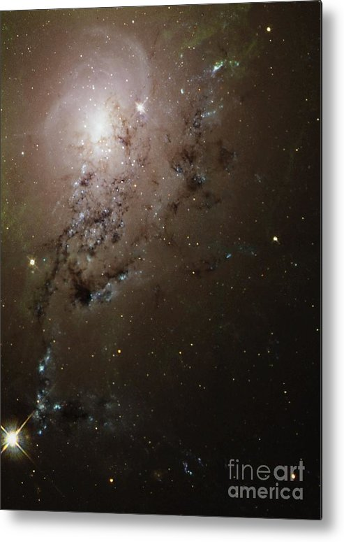 1995 Metal Print featuring the photograph Colliding Galaxies Ngc 1275, Hubble by Space Telescope Science Institute NASA