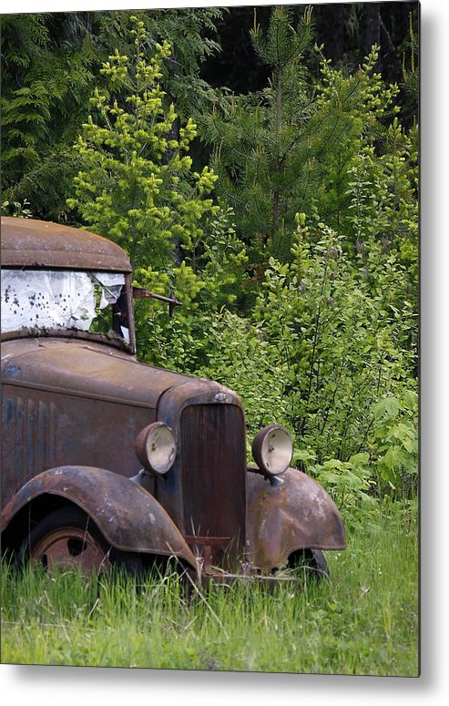 Classic Metal Print featuring the photograph Old Classic by Steve McKinzie