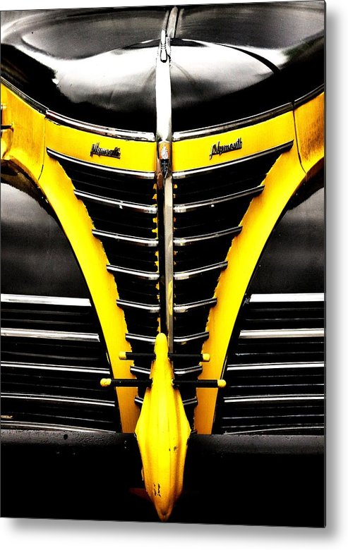 Car Metal Print featuring the photograph Old Plymouth by Kenneth Mucke