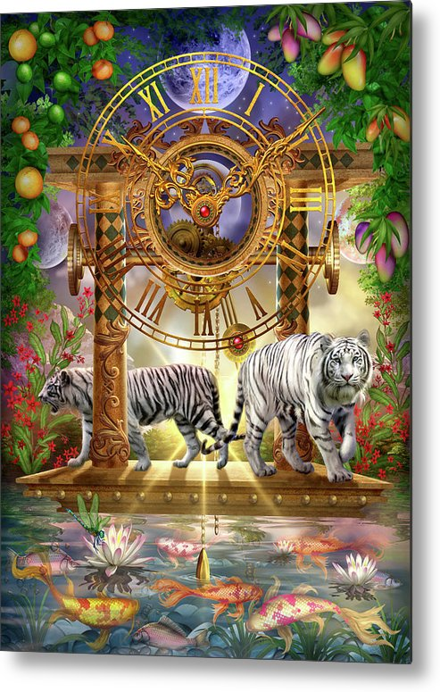 Metal Print featuring the digital art Magical Moment In Time by Ciro Marchetti