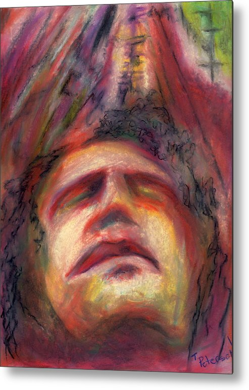 Crayon Metal Print featuring the painting Ascension by Todd Peterson