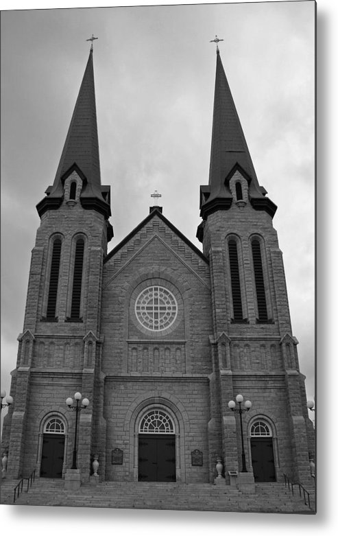 Cahedral Metal Print featuring the photograph Church by Lisa Hebert