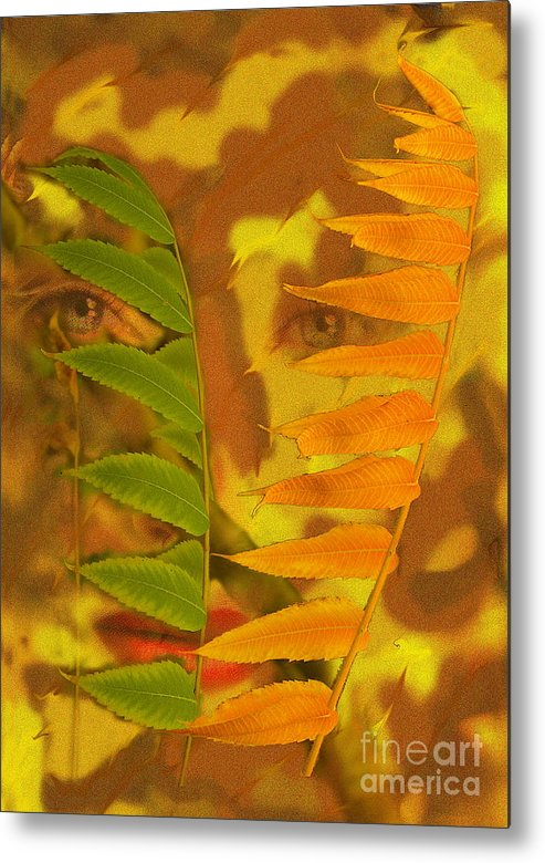 Nature Metal Print featuring the photograph Face Of Fall by Viktor Savchenko
