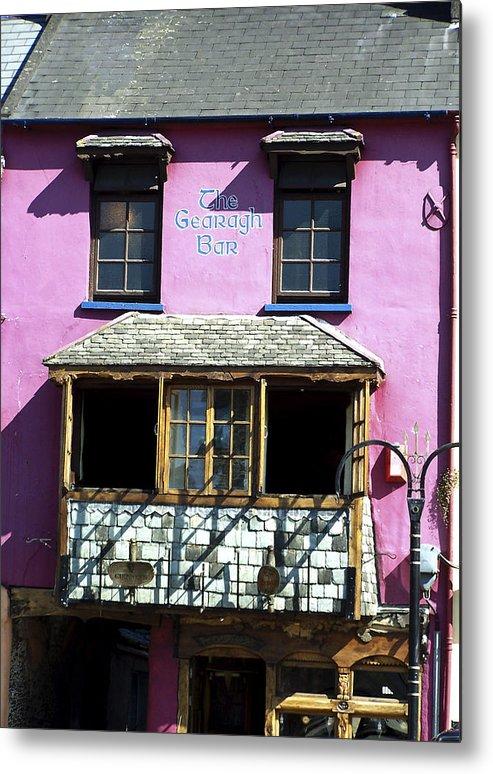 Irish Metal Print featuring the photograph Gearagh Pub In Macroom Ireland by Teresa Mucha