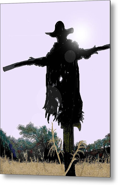 Jeepers Creepers Metal Print featuring the digital art Jeepers Creepers by Kim Souza