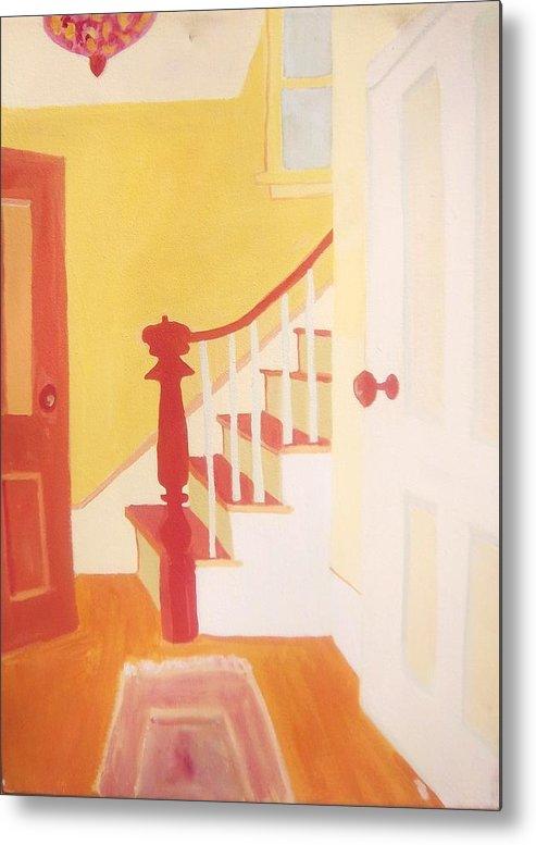 Interior Metal Print featuring the painting Lanesville Hallway by Debra Bretton Robinson