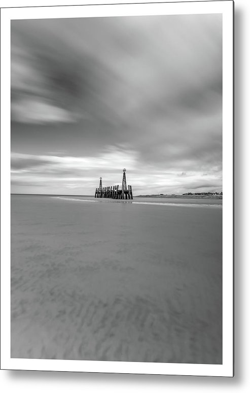 Seaside Metal Print featuring the photograph Lytham St Annes by Mark Mc neill