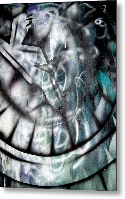 Modern Metal Print featuring the painting Rebirth3 by Leigh Odom