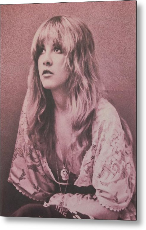 Stevie Nicks Metal Print featuring the photograph Stevie Nicks by Donna Wilson