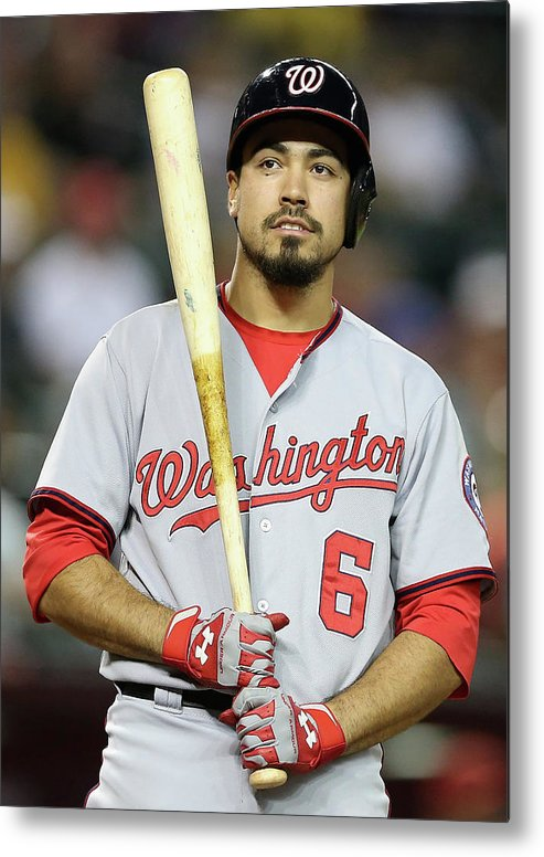 National League Baseball Metal Print featuring the photograph Anthony Rendon by Christian Petersen