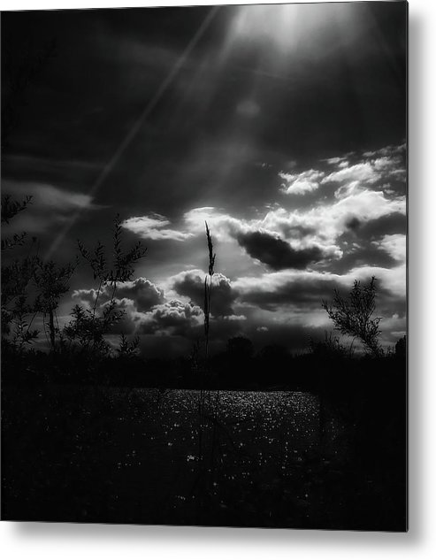 Morning Metal Print featuring the photograph Darkest Before The Dawn by Donna Blackhall