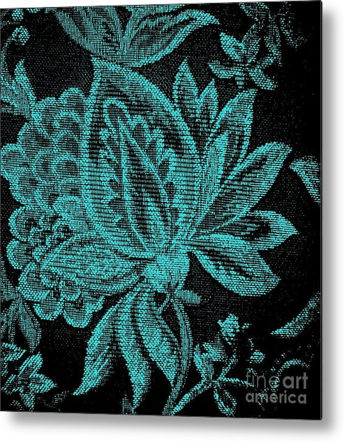 Photo Metal Print featuring the photograph Fancy Flower by Marsha Heiken