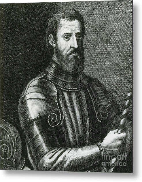 Giovanni Da Verrazano Italian Explorer Metal Print By Photo