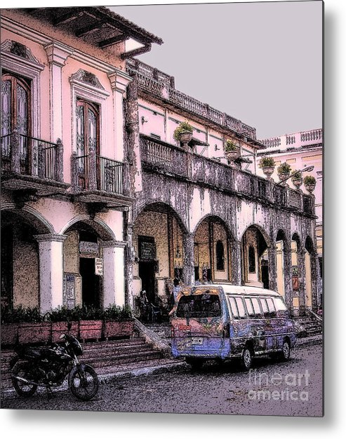 Granada Metal Print featuring the photograph Hanging Out In Granada by Lydia Holly