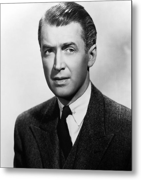 1940s Portraits Metal Print featuring the photograph Rope, James Stewart, 1948 by Everett