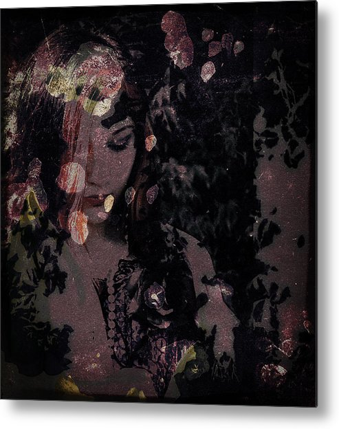 Girl Metal Print featuring the photograph Something Beautiful by Adam Kissel