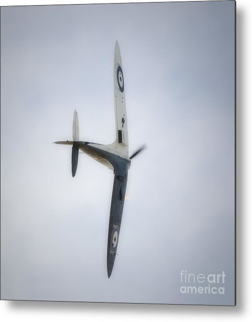 Spitfire Metal Print featuring the digital art Supermarine Spitfire Mk1 by Nigel Bangert