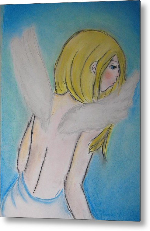 Angel Metal Print featuring the photograph Angel by P S