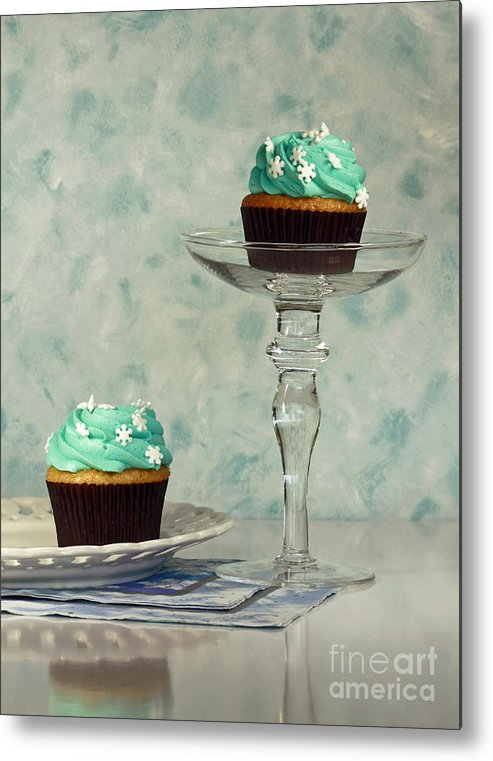 Cupcake Frenzy Metal Print featuring the photograph Cupcake Frenzy by Inspired Nature Photography Fine Art Photography