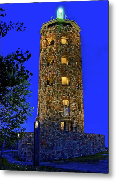 Duluth Metal Print featuring the photograph Enger Tower 2011 by Bryan Benson